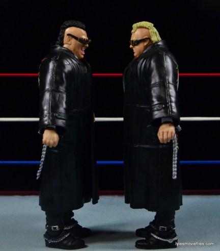WWE Nasty Boys Elite 42 -facing each other