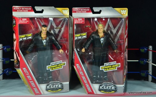 WWE Nasty Boys Elite 42 - front package