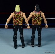 WWE Nasty Boys Elite 42 -rear