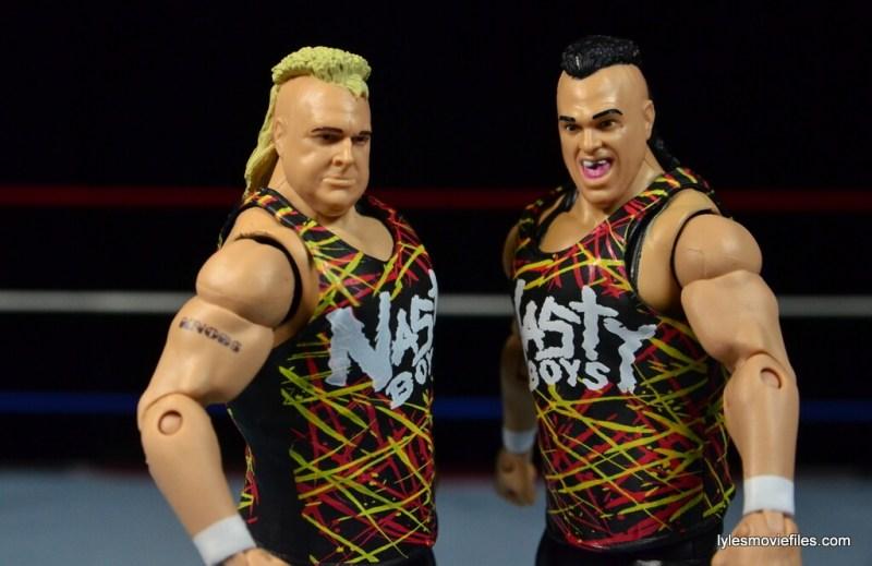 WWE Nasty Boys Elite 42 -wide shot