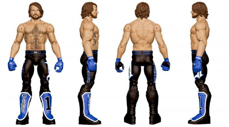 WWE SDCC 2016 reveals - AJ Styles FULL