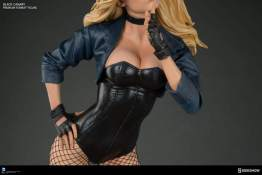 dc-comics-black-canary-premium-format-figure-corset closeup