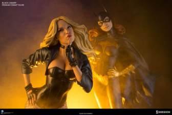 dc-comics-black-canary-premium-format-figure-with Batgirl