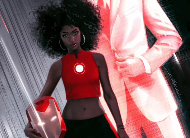 riri williams as invicible iron man