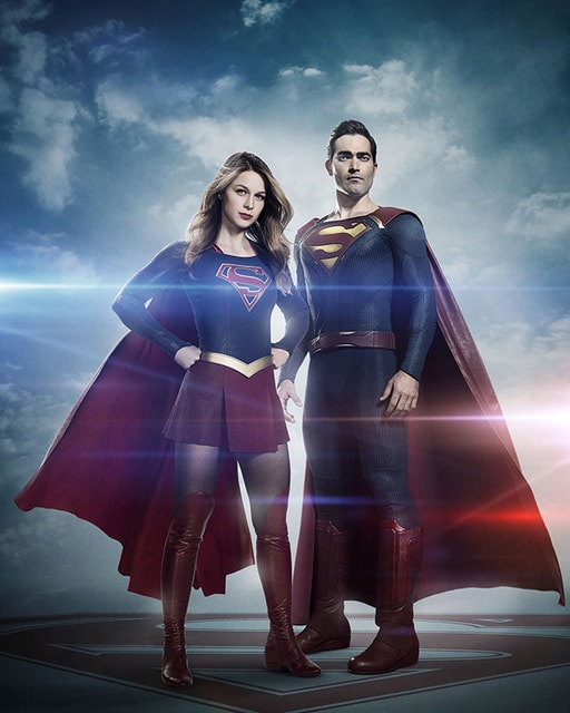 supergirl-superman - Melissa Benoist and Tyler Hoechlin-min
