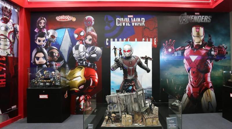 AGCHK 2016 - Hot Toys display
