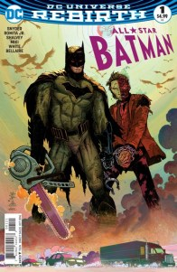 All Star Batman issue 1 review _variant cover