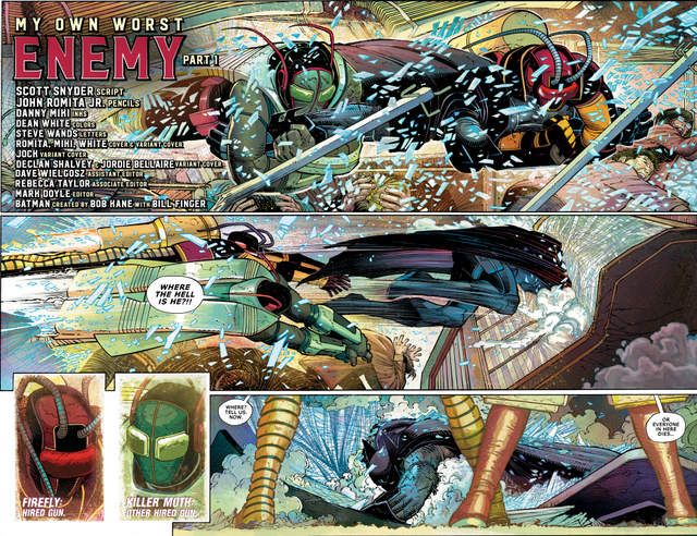 All Star Batman issue 1 review pages_2-3