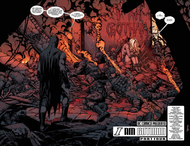 Batman issue 4 I am Gotham issue 4 pages 2 and 3