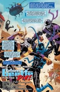 Blue Beetle Rebirth #1 page 1