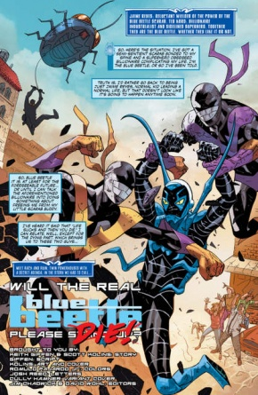 Blue Beetle Rebirth #1 page 1