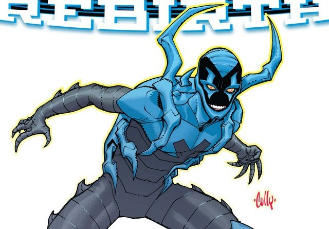 Blue Beetle Rebirth #1 variant cover