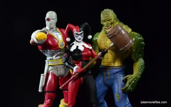 DC Icons Harley Quinn figure review - Suicide Squad - Deadshot, Harley and Killer Croc
