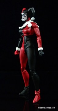 DC Icons Harley Quinn figure review -left side