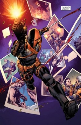 Deathstroke #1 review -page 4