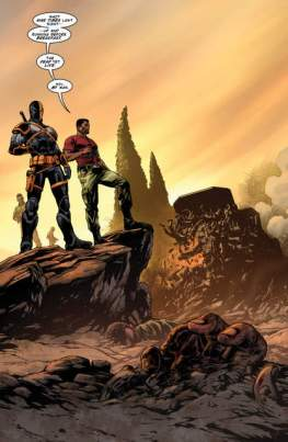 Deathstroke: Rebirth issue 1 review page_4