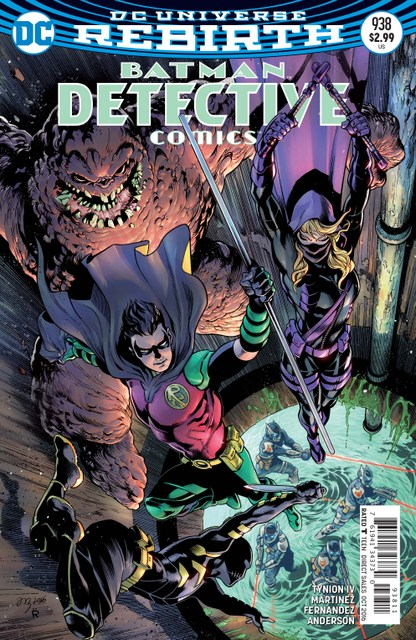Detective Comics issue 938 review cover