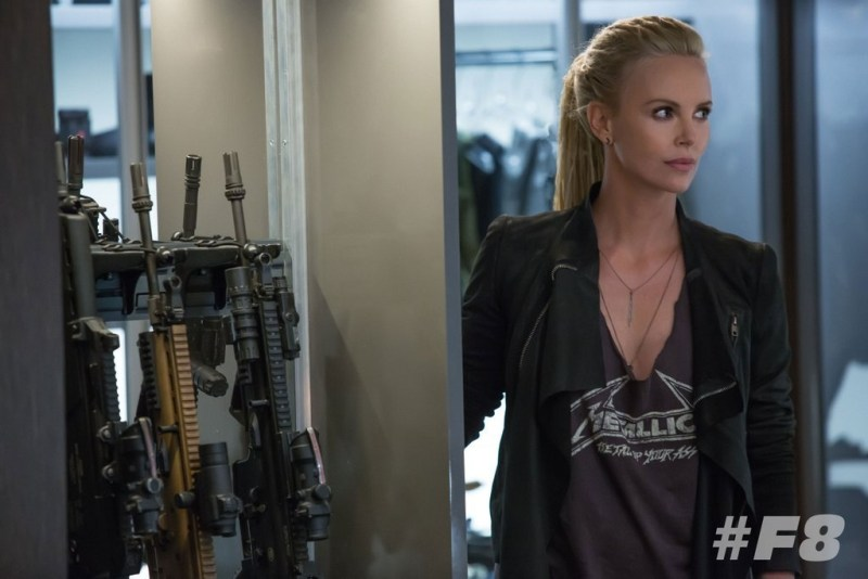 Fast 8 Charlize Theron as Cipher