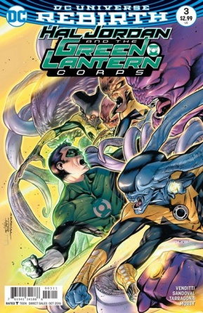Hal Jordan and the Green Lantern Corps #3 review - Innocents Lost main cover