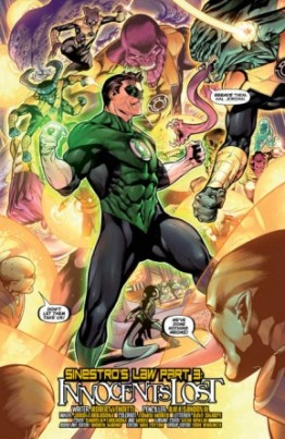 Hal Jordan and the Green Lantern Corps #3 review -page 4