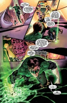 Hal Jordan and the Green Lantern Corps #3 review -page 5