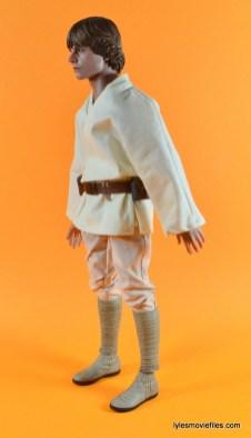 Hot Toys Luke Skywalker figure review -left side