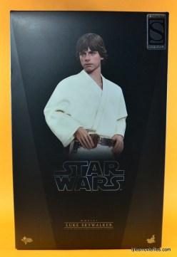 Hot Toys Luke Skywalker figure review -package front