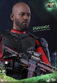 Hot Toys Suicide Squad Deadshot figure -head and rifle