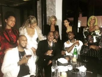 MTV Music Awards 2016 - after party Alicia Keys Swizz Beatz, Beyonce, Jay-Z, Kim Kardashian, Kanye West, Cassie and Sean Combs