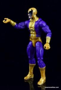 Marvel Legends Batroc figure review - left side