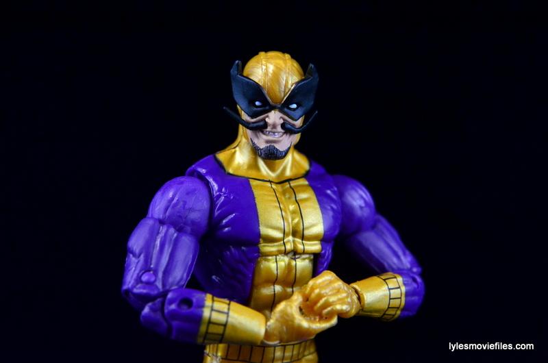 Marvel Legends Batroc figure review -main pic
