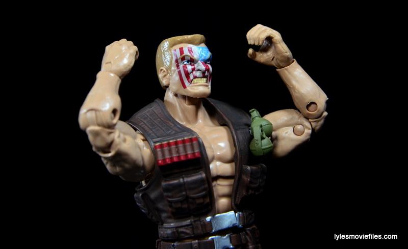 Marvel Legends Nuke review - arms up