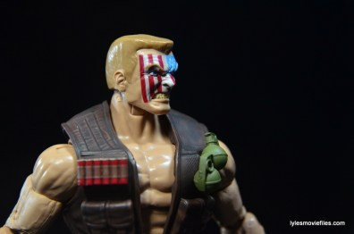 Marvel Legends Nuke review - head detail right side