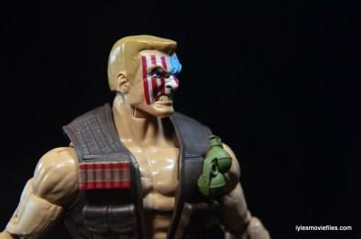 Marvel Legends Nuke review - head detail right side