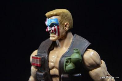 Marvel Legends Nuke review - left side head detail