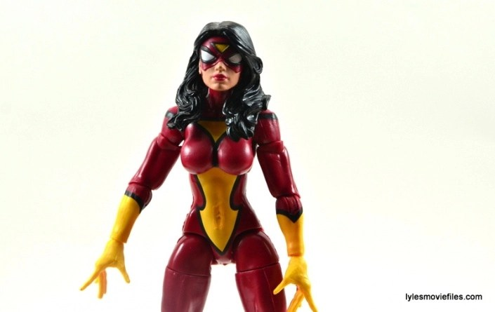Marvel Legends Spider-Woman figure review - main pic