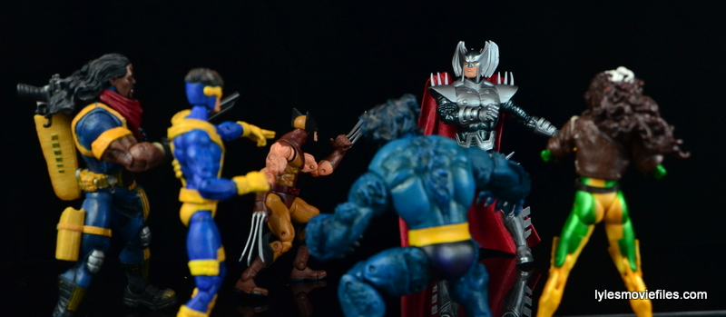 Marvel Legends Stryfe figure review -face off with The X-Men