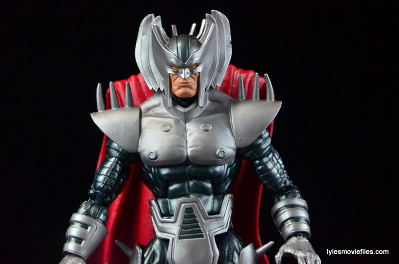 Marvel Legends Stryfe figure review -profile pic