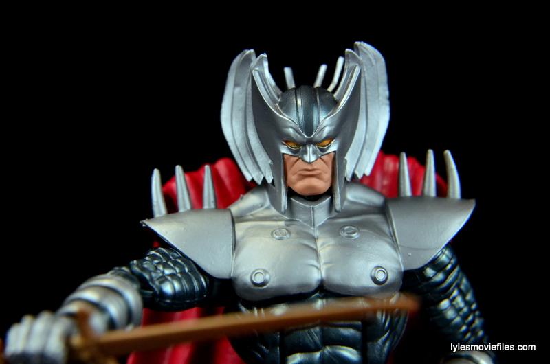 Marvel Legends Stryfe figure review -raising sword