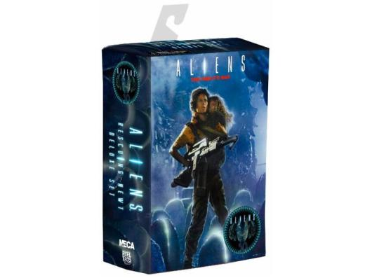 NECA Aliens Ripley and Newt pack - package picture