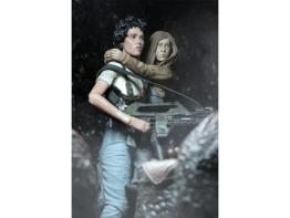 NECA Aliens Ripley and Newt pack - poster pose