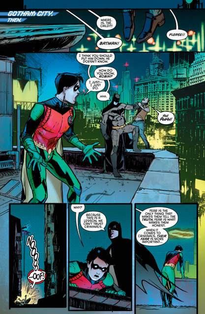 Nightwing isue 2 Better than Batman page 1