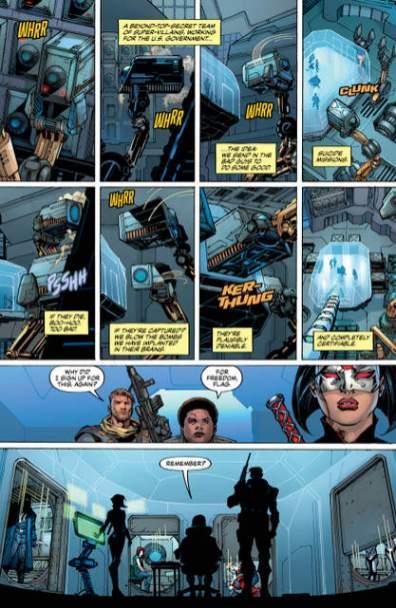 Suicide Squad #1 review page 5