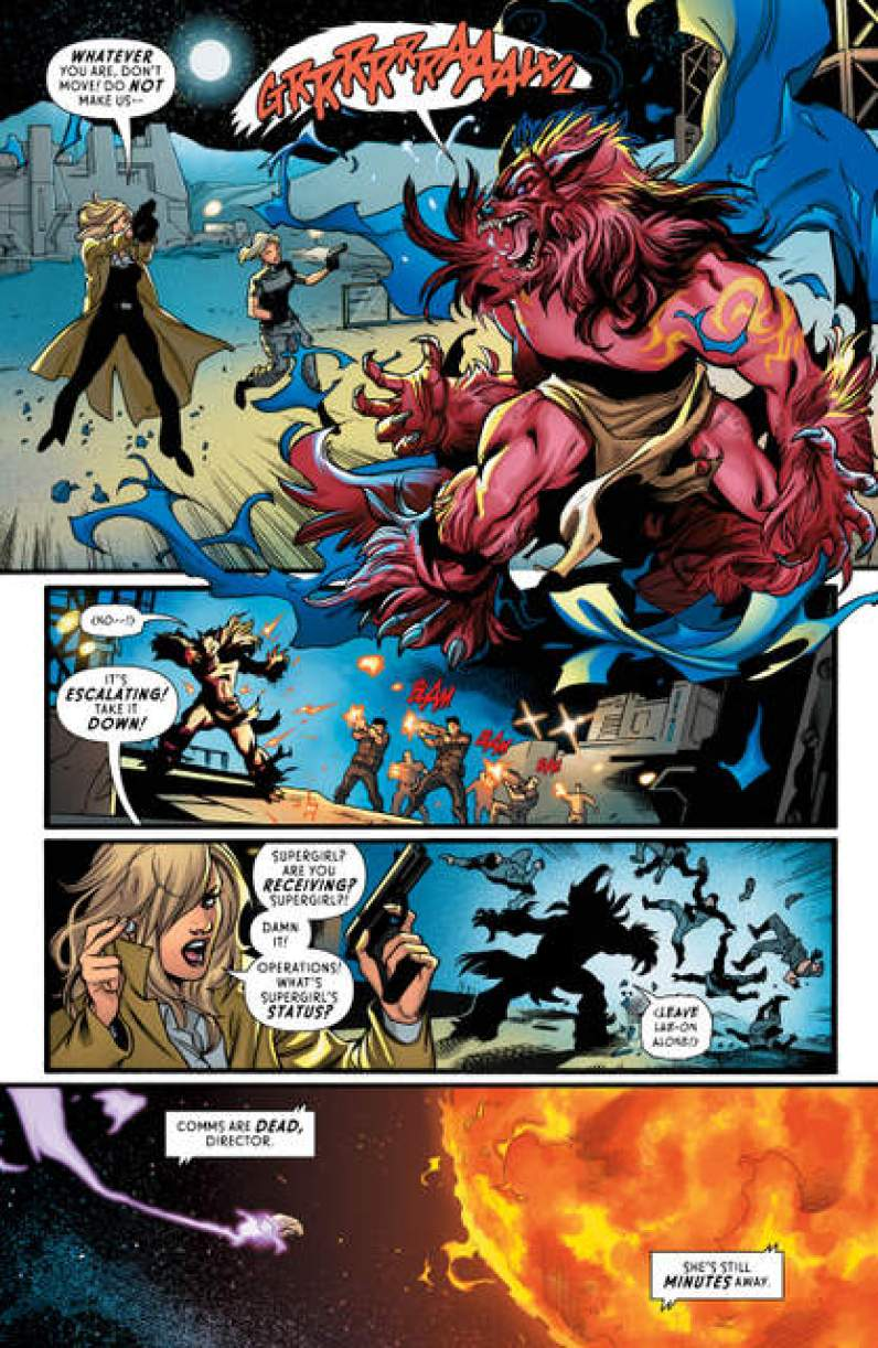 Supergirl Rebirth #1 review page 6