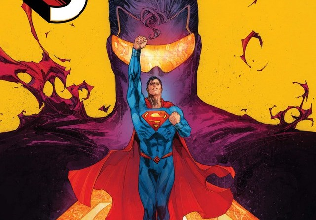 Superman issue 4 Son of Superman variant cover