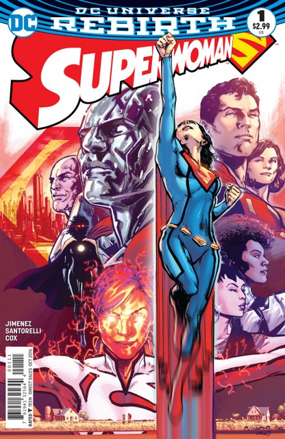 Superwoman issue 1 review cover
