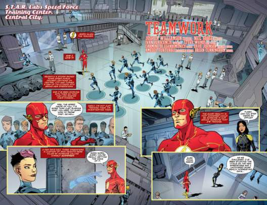 The Flash #4 review pages 2-3