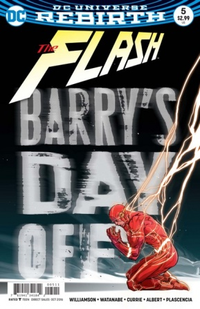 The Flash #5 review cover