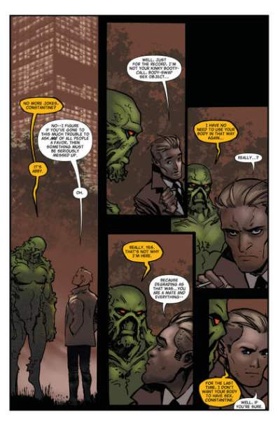 The Hellblazer #1 page 9