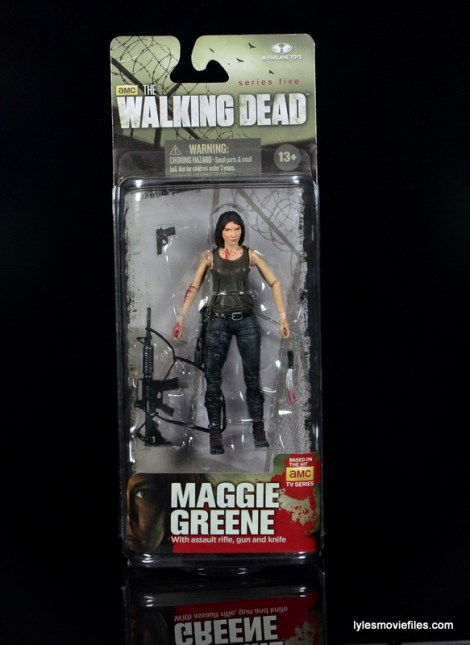 The Walking Dead Maggie Green figure McFarlane Toys - front package